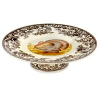 Spode® Woodland Turkey Footed Cake Plate