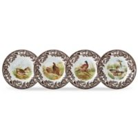 Spode® Woodland Bird Canapé Plates (Set of 4)