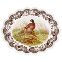 Spode® Woodland Pheasant Oval Fluted Dish