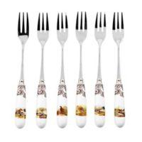 Spode® Woodland 6-Piece Pastry Fork Set
