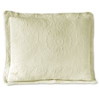 Historic Charleston Collection Matelasse King Sham in Ivory