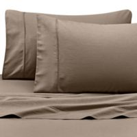 Kenneth Cole Reaction Home 400-Thread-Count King Sheet Set in Taupe