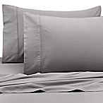 Kenneth Cole Reaction Home 400-Thread-Count Standard Pillowcase in Silver (Set of 2)