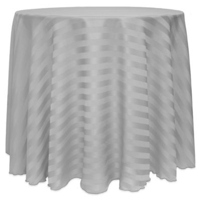 buy grey round tablecloth from bed bath & beyond