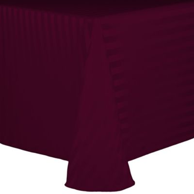 Buy Majestic 90 Inch X 132 Inch Tablecloth In Burgundy