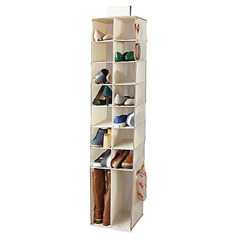 image of Real Simple® Shoe & Boot Hanging Organizer