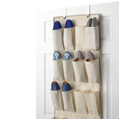 Real Simple® 24 Pocket Over The Door Shoe Organizer