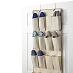 Real Simple® 24-Pocket Over-the-Door Shoe Organizer