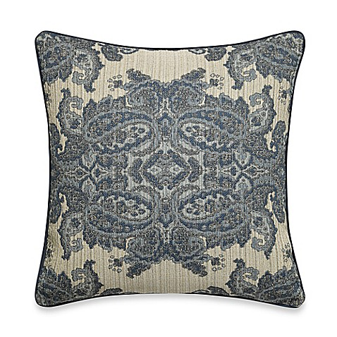 Bed Bath And Beyond Blue Throw Pillows : Dorthraki Throw Pillow in Denim Blue - Bed Bath & Beyond