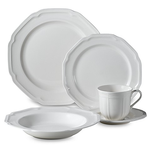 sc 1 st  Bed Bath u0026 Beyond : antique white dinnerware - pezcame.com