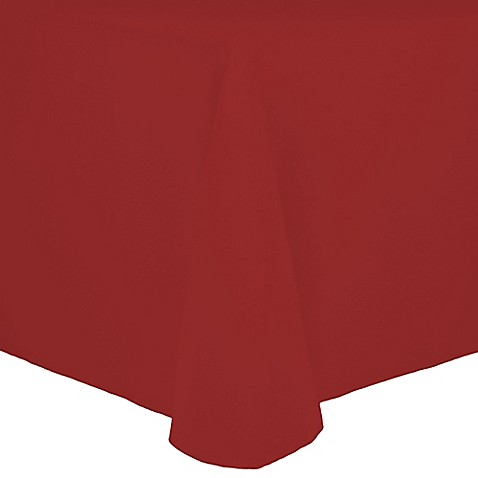 Buy Spun Polyester 90 Inch X 156 Inch Oblong Tablecloth In