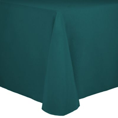 Buy Teal White Tablecloths From Bed Bath Amp Beyond