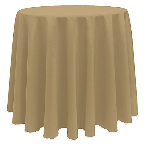 Buy basic 108 inch round tablecloth in cafe from bed bath for 108 inch round table cloth