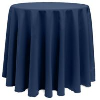 Basic 120-Inch Round Tablecloth in Midnight
