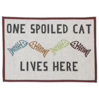 Petrageous® 'One Spoiled Cat' Tapestry Placemat