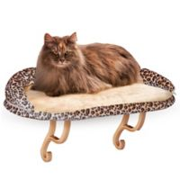 K&H Deluxe Kitty Sill with Bolster in Leopard