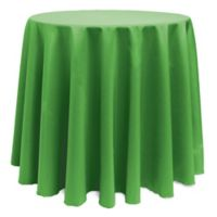 Basic 132-Inch Round Tablecloth in Kelly