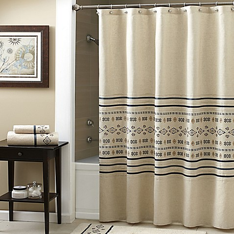 croscill 174 cheyenne shower curtain bed bath beyond