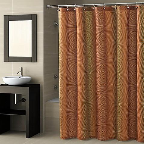 Croscill 174 Fingerprint Shower Curtain Bed Bath Amp Beyond