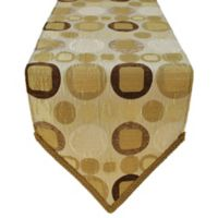 Sherry Kline Metro Taupe 13-Inch x 72-Inch Table Runner