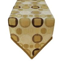 Sherry Kline Metro Taupe 13-Inch x 90-Inch Table Runner