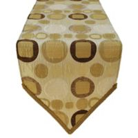 Sherry Kline Metro Taupe 13-Inch x 108-Inch Table Runner
