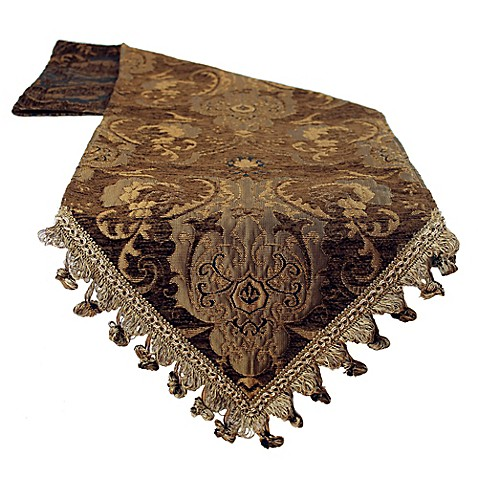 Sherry Kline China Art Table Runner In Brown Bed Bath
