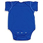 i play.® Brights Size 6-12M Organic Cotton Short-Sleeve Adjustable Bodysuit in Royal Blue