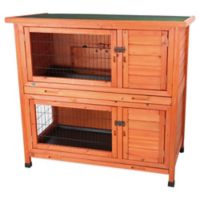 Trixie Natura 2-in-1 Small Animal Hutch in Brown