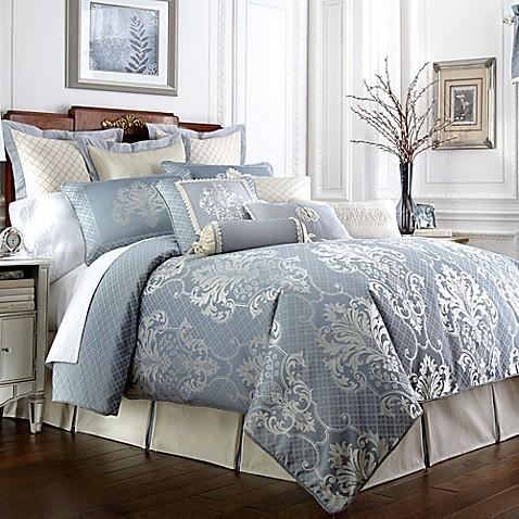 Waterford 174 Linens Newbridge Reversible Comforter Set Bed