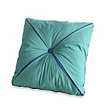 Fiesta® Calypso Reversible Button 18-Inch Square Throw Pillow