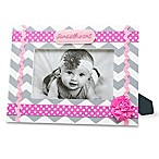 AD Sutton  Sweetheart  Photo Frame in Pink/Grey