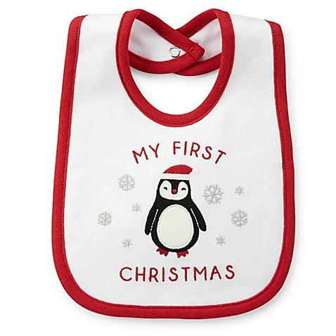 Carter S 174 My First Christmas Bib Buybuy Baby