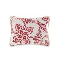 Coraline Oblong Throw Pillow in Peach