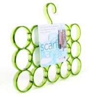 15-Loop Scarf Hanger in Green