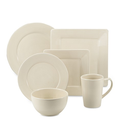 Tabletops Unlimited® Misto Dinnerware in Linen  sc 1 st  Bed Bath u0026 Beyond : misto dinnerware - pezcame.com
