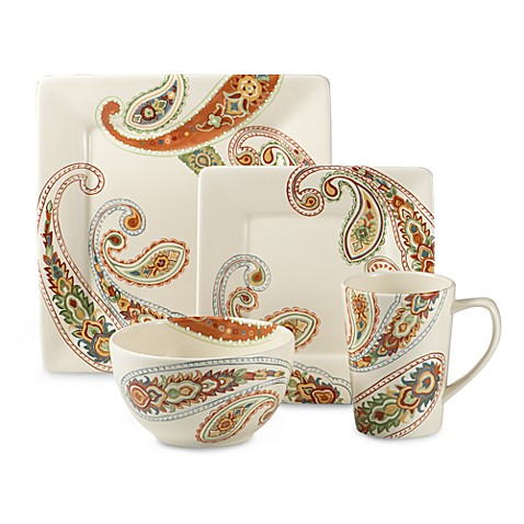 Misto Paisley Dinnerware  sc 1 st  Bed Bath u0026 Beyond & Misto Paisley Dinnerware - Bed Bath u0026 Beyond