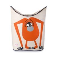 3 Sprouts Laundry Hamper in Orangutan