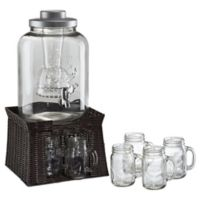 Artland® Masonware Mason Jar Infusion Beverage Set