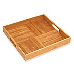 Lipper International Bamboo Square Serving Tray