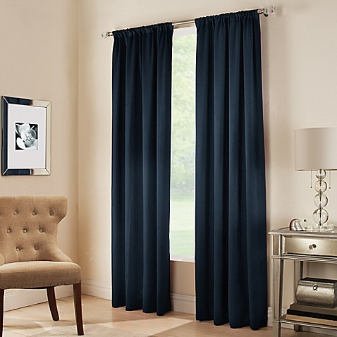Midtown Rod Pocket Window Curtain Panel Bed Bath Amp Beyond