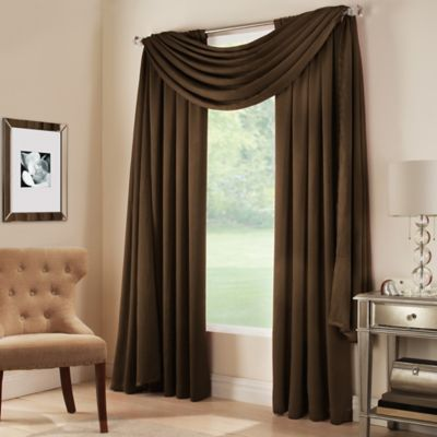 Curtains Ideas brown valance curtains : Buy Brown Scarf Valance from Bed Bath & Beyond