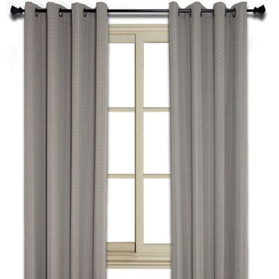 Murano 95 Inch Room Darkening Window Curtain Panel in Taupe. Buy Room Darkening Curtains from Bed Bath   Beyond