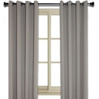 Murano 95-Inch Room-Darkening Window Curtain Panel in Taupe