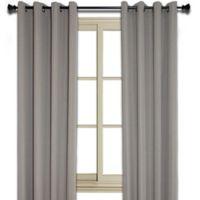 Murano 95 Inch Room Darkening Window Curtain Panel In Taupe
