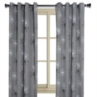 Crawford Floral Print Room-Darkening Window Curtain Panel