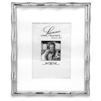 Lawrence Frames Metal Bamboo 8-Inch x 10-Inch Frame in Silver