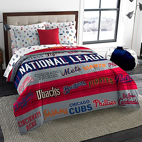 Mlb All League Twin Full Comforter Bed Bath Amp Beyond