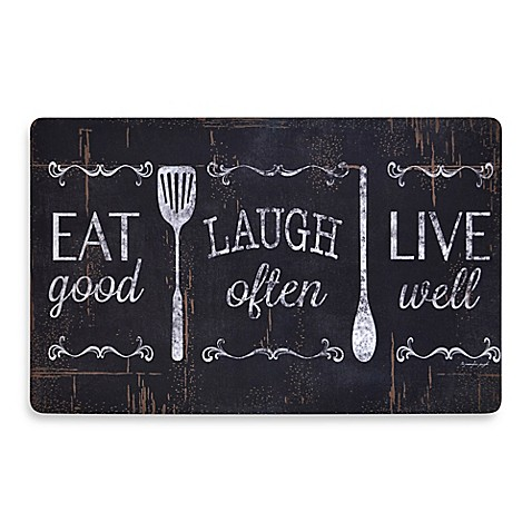 Home Dynamix Soothing Chef Eat Laugh Love 19 7 Inch X 31 5 Anti