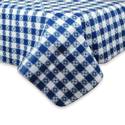 Buy round tablecloths from bed bath beyond for Table runners 52 inches